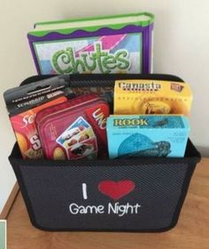 Great way to keep 'game night' organized all the time! Thirty One Double Duty Caddy