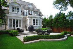 Backyards traditional-exterior