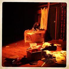 La Tempesta, di W.Shakespeare, Regia di Giles Smith - Backstage #scenography #theatre #roma #cometaoff