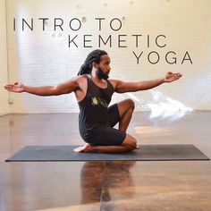 May 28th  at 1pm I will be doing a Intro to Kemetic Yoga workshop at Move With Grace studio at 431 Myrtle Ave  Brooklyn N.Y.  Link to purchase tickets located on my profile page see you there  #KemeticYoga #Yoga #introtokemeticyoga #healthyliving #holisticliving #wellness #namaste #ase #Hotep #MovewithGracestudio #BrownstoneWellness
