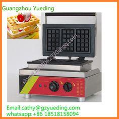 Commercial waffle machine/rectangle waffle maker/waffle maker custom plate #Affiliate