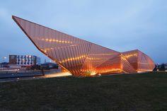 OVO grabczewscy architekci museum of fire in zory poland designboom