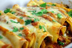 MyFridgeFood - Best Chicken Enchiladas