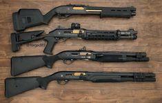 Added another shotgun to the collection. sbs from bottom). Military Weapons, Weapons Guns, Guns And Ammo, Combat Shotgun, Sbs Shotgun, Custom Guns, Home Defense, Cool Guns, Assault Rifle