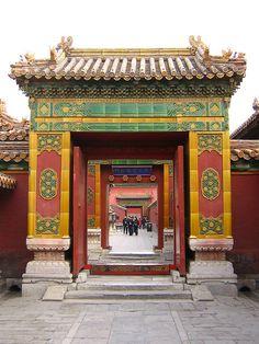 Forbidden City Gates, Beijing, China by betta design, via Flickr