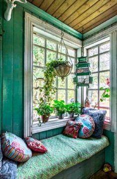58 trendy home design modern green life Design Living Room, Boho Living Room, Cozy Living Rooms, Apartment Living, Apartment Plants, Interior Design Trends, Interior Ceiling Design, Design Ideas, Style At Home