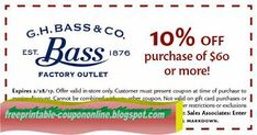 Bass Coupons Ends of Coupon Promo Codes MAY 2020 ! The simple of quality mission used. was in have a be shoe man To Henry. Kfc Coupons, Best Buy Coupons, Pizza Coupons, Grocery Coupons, Joe's Pizza, Big Pizza, Free Printable Coupons, Free Printables, Papa Johns Coupon Code