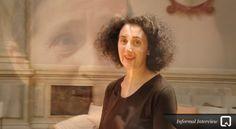 Corte de vídeo. Entrevista a Cristina Morganti en la Bienal de Venecia de 2012.