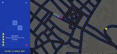 google maps pacman Malaga centro