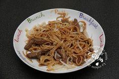 Boeuf au Caramel nouilles sautées au soja - Cookéo