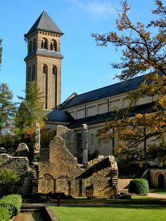 ORVAL L'abbaye d'Orval  Luxembourg