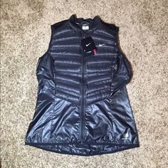 Selling this Nike Aeroloft 800 Running Vest in my Poshmark closet! My username is: the_lex_factor. #shopmycloset #poshmark #fashion #shopping #style #forsale #Nike #Jackets & Blazers
