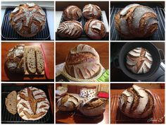kváskové chleby - pšeničnožitné