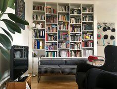 Knihovna bílá lakovaná MDF Bookcase, Shelves, Home Decor, Shelving, Homemade Home Decor, Book Shelves, Shelf, Open Shelving, Interior Design
