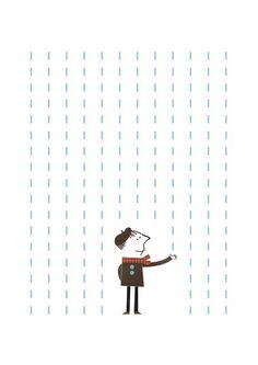 It's raining Jr. par blancucha sur Etsy