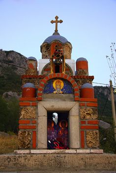 the Ostrog Monastery, Montenegro by Kate_Lokteva, via Flickr - Explore the World, one Country at a Time. http://TravelNerdNici.com