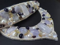 Necklace Amethyst Bracelet Set Necklace by JewelryForLadies