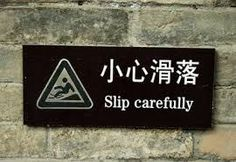 Lost in Translation: Foreign Signs
