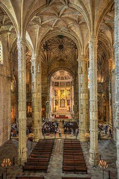 Jerónimos Monastery Belém - 16th Century Constrution in Lisbon/ Portugal  BOOK LISBON NOW! http://www.booking.com/index.html?aid=367071
