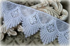 Lace Trim Venice Lace for Bridal Costumes Lace by TresorsdeLuxe, $6.95