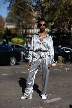 136b8206e7f Kelela Makes a Sterling Street Style Appearance at Paris Fashion Week