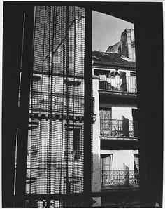 Ilse Bing, 'Paris (My window, rue de Vaugirard)' 1952