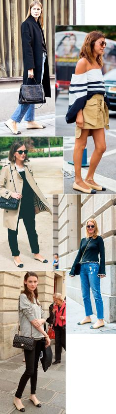 Street style looks com sapatilha.