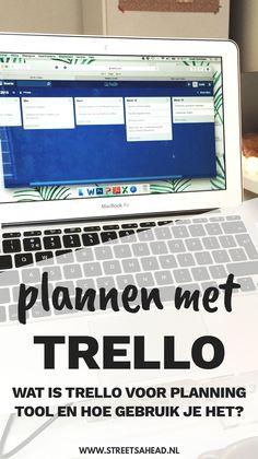 Plannen met de app Trello: wat is het en hoe werkt het? Business Model, Business Tips, Online Marketing, Content Marketing, Planning And Organizing, 5 W, Work Inspiration, Life Organization, Virtual Assistant