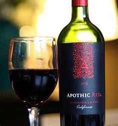 Apothic Red Blend--Hubby and I are enjoying this wine tonight. This also is a steady rack buy..