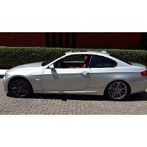 300 White Performance High Kick Trunk Spoiler Fit BMW E92 328i