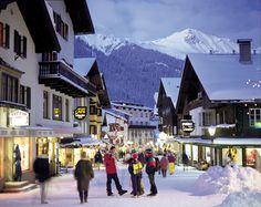 St. Anton, Austrian Alps