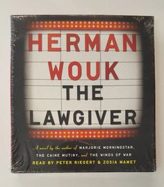 The Lawgiver by Herman Wouk (2012, CD) A Novel about the Life of Moses Romantic