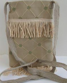 Cross Body Bag , Sling Bag , Fringe Purse , Crossbody Purse | ClassA - Bags & Purses on ArtFire