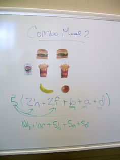 Math = Love: Teaching the Distributive Property. Mary.....duh! Why oh why didn't we think of this???