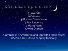 dōTERRA liquid sleep. Diffuse to unwind and prepare for a restful nights sleep. #doterra #liquid #sleep