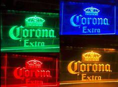 NEWEST-LED Neon Light Corona Extra Beer Sign Bar Club Pub Advertise Gift Set #LedNeonChina #Modern