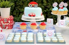 LITTLE RED CAR FIRST BIRTHDAY PARTY {Guest Feature}