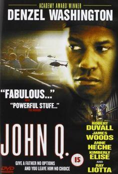 John Q DVD ~ Denzel Washington,