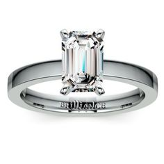 Your Created Ring Emerald cut