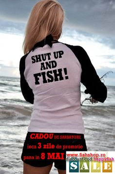 Ai inca 3 zile de promotie 20% Discount la toate produsele, pana in 8 Mai,CADOU DE SARBATORI www.fishshop.ro ! PASTE FERICIT!  RO