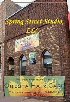 Spring Street Studio, LLC in Chippewa Falls, WI has the #EdgeYouDeserve.  Tell your stylist about us! www.customsharpening.com