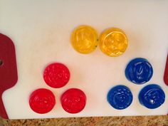 Bath Crayon for Lucas!  Glycerin soap and soap coloring... Super easy!