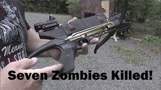 Badassing the Cobra Pistol Crossbow!