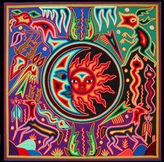 arte popular mexicana - Arte Huichol