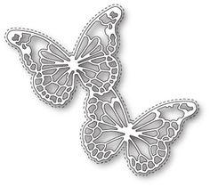 Memory Box Die Harrington Butterflies
