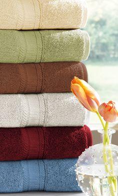 Fiona Luxury Towel Set, Bath Towels, Bath Linens, LuxorLinens.com