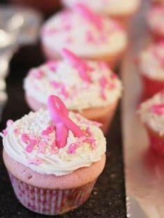The Best Pink Velvet Cupcake Recipe Ever! Pink Ribbons for The Cure
