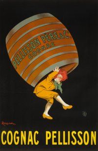 LEONETTO CAPPIELLO (French, 1875-1942) Pellisson Père & Co. Cognac advertising poster, circa 1907 Co