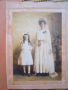 Vintage Wedding Photos 1900 1910s Gorgeous Cabinet Cards Larger |