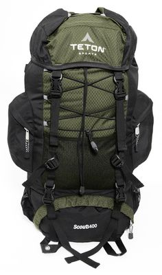 87.50 Teton Scout 3400 Internal Frame Backpack ULTIMATE PACK TO USE WHEN  YOUR BACK PACKING   bfb39855078e5